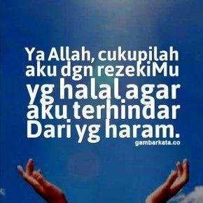 Gambar Kata Kata Doa Islami Dengan Gambar Islamic Quotes