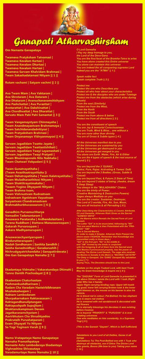 Best 25+ Ganpati atharvashirsha ideas on Pinterest | Lord ganesha ...