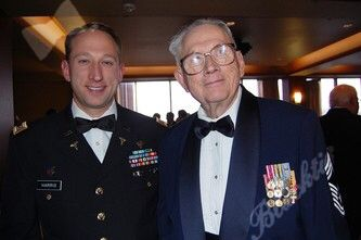 Kevin Harris With His And Eric S Grandfather Richard Poole