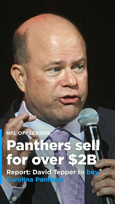 David Tepper, a billionaire hedge fund manager and minority owner of