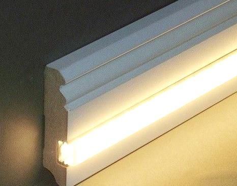 Licht Sockelleisten Lichtleisten Leds Led Beleuchtung Aluminium Profile Komplettsets Vld Trade Gmbh In 2020 Strip Lighting Cove Lighting Bar Lighting