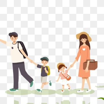 Cartoon Family Travel Free Illustration Mom And Dad Girls Boys Png Transparent Clipart Image And Psd File For Free Download Family Cartoon Free Illustrations Happy Family Photos