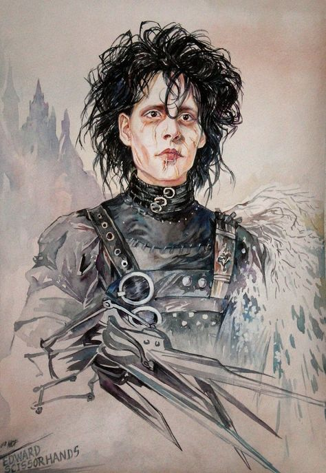 tim burtons edward scissorhands and fantasy Director tim burton's wondrous modern fairy tale - his most heartbreaking and inventive film - stars johnny depp as the boy with sharp blades where his fingers should be, courtesy of his inventor father, vincent price (in his final film role.