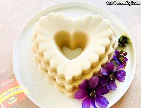 طرز تهیه دسر بوراتوس وانیلی مجلسی و خوشمزه قالبی مجله تصویر زندگی Food Videos Desserts Cheesecake Recipes Food