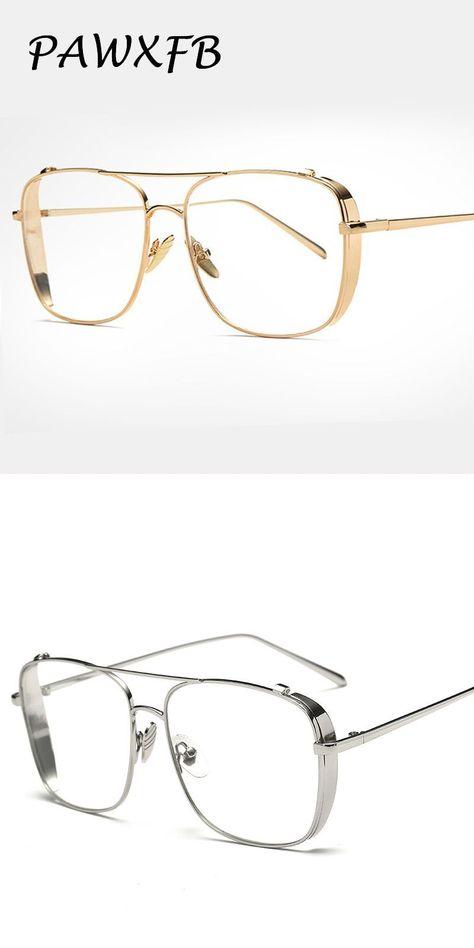 6725552222d Pop age 2018 new vintage clear lens glasses metal glasses gold frames women  men myopia glasses female optical eyeglasses oculos  eyewear  accessories  ...
