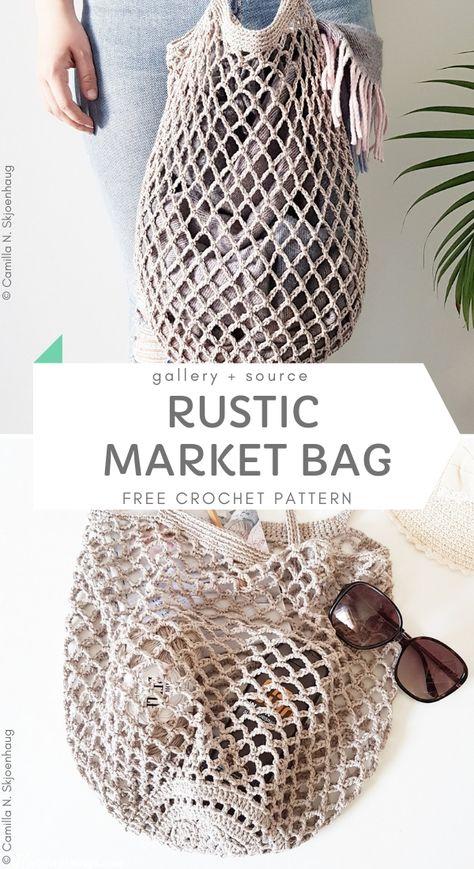 Best Crochet Market Bags