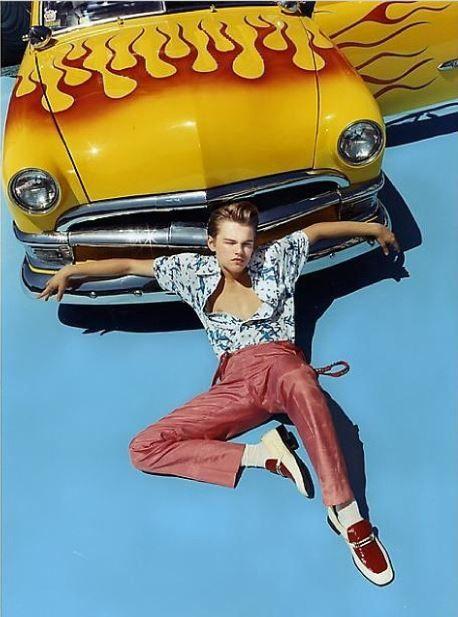 Leonardo DiCaprio photographed by David LaChapelle Studio Leonardo Dicaprio Romeo, David Lachapelle, Beautiful Boys, Pretty Boys, Cute Boys, Beautiful People, Wallpaper Collage, Leonardo Dicapro, Looks Cool