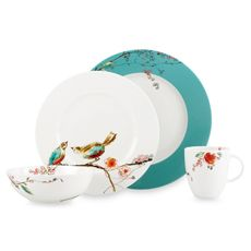 Lennox Chirp Tableware... This is our wedding china pattern. I love it :)
