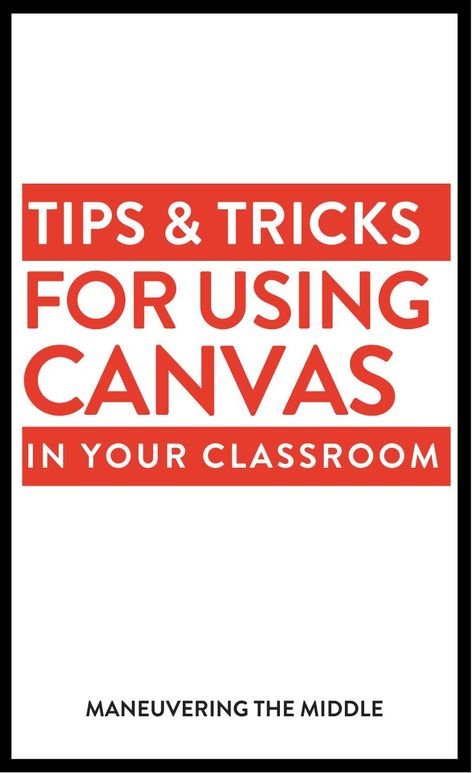 Canvas is a learning management software that allows each student to access material and submit assignments. Read more tips and tricks here! Canvas Learning Management System, Classroom Management, Teacher Canvas, Memes Gretchen, Teaching Technology, Teaching Music, Teaching Tips, Online Classroom, Flipped Classroom