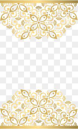 Gold Border Clipart Png Frame Border Design Decorative Lines Gold Border Design