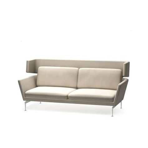 Vitra Suita Three Seater Sofa With Headrest Section 9 190