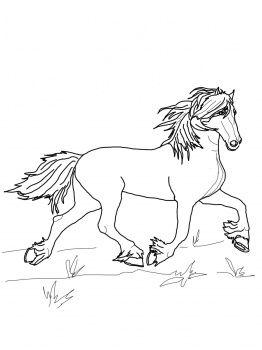 Kleurplaten Paarden Fries.Friesian Horse Coloring Page Horse Crafts Kleurplaten