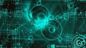 Windows 10 Wallpaper Hd 3d For Desktop Black Technology