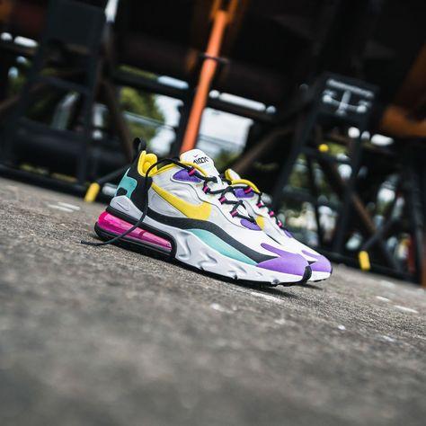 NIKE Air Max 270 React | Nike air, Nike