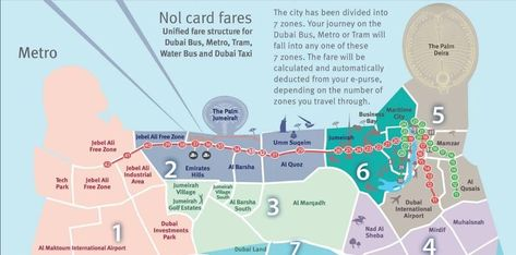Metro De Dubai Mode D Emploi Plan Zones Et Tarifs En 2020