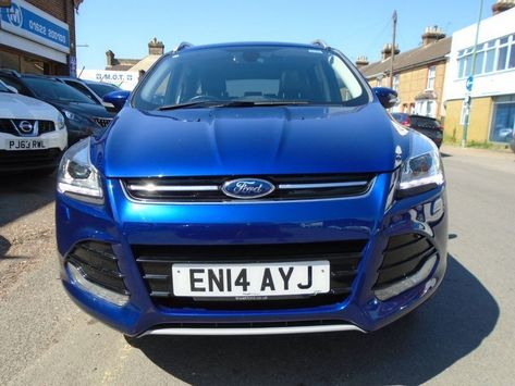 2014 14 Ford Kuga 2 0 Titanium X Tdci 11 994 Finance From 224 40 P M Ford Kuga Blue Maidstone Carsfors Cars For Sale Used Ford Ford Kuga