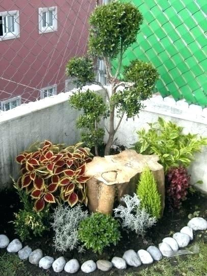 Landscaping Ideas For Backyard Corner Corner Landscaping Ideas