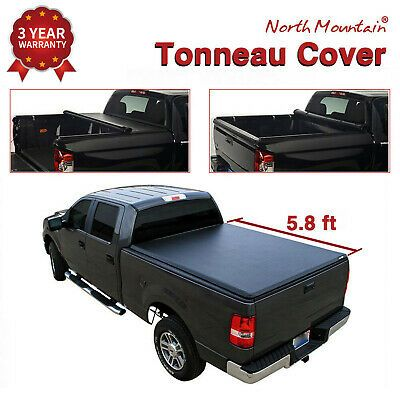 Sponsored Ebay Tonneau Cover Soft Vinyl Roll Up Fit 04 07 Silverado Sierra 5 8 Fleetside Bed In 2020 Tonneau Cover Cover Ebay