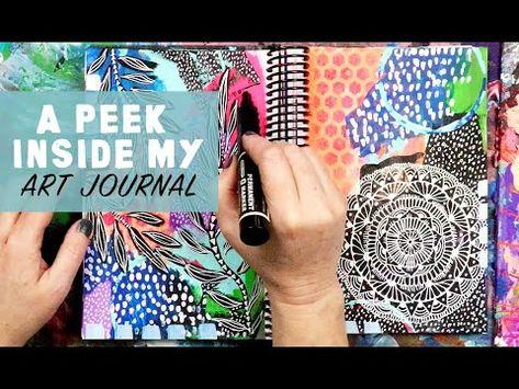 a peek inside my art journal