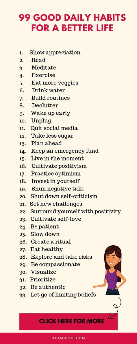 99 Simple habits that can improve your happiness and well being