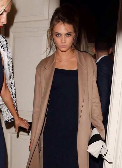 Cara Delevingne at Chloe Delevingne's Wedding Lunch.