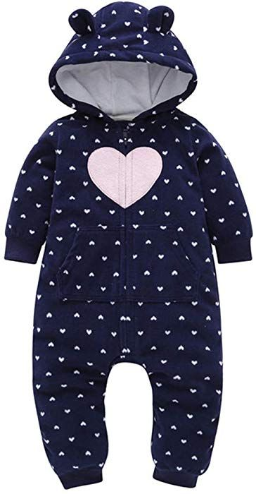 8ea7bae9919c Sharemen Baby Boys Girls Thicker Grid Jumpsuit Hoodie Romper Outfit  Bodysuit (6-9 Months. Visit. April 2019
