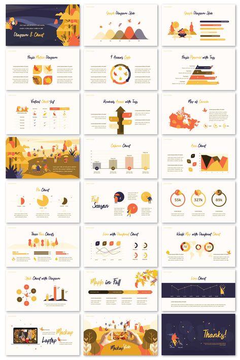 Autumn PowerPoint Business Templates