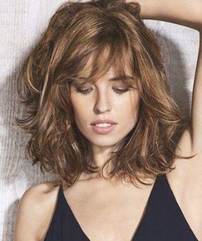 62 Trendy Hair Styles For Medium Length Hair Over 50 Wavy Hair Hair Length Medium Medium In 2020 Medium Hair Styles Medium Length Hair Styles Long Bob Hairstyles