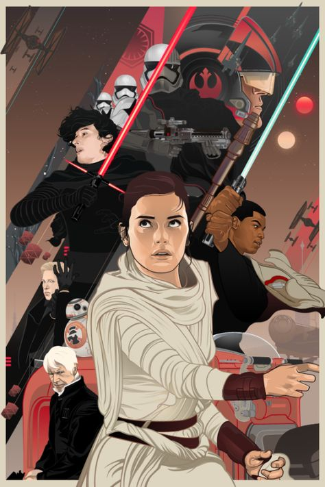 Star Wars: The Force Awakens by Vincent Aseo