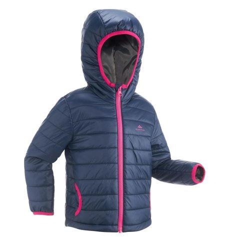 Kurtka Turystyczna Zimowa Mh Dla Dziewczynek Winter Jackets Shopping Decathlon
