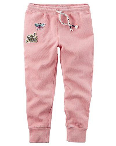 Carters Girls Patch Joggers