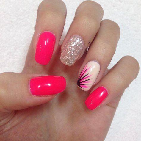 Cute Pink Nail Design 2018 New Cute Pink Nails Pink Nail Designs Pink Nails
