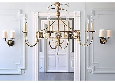 36 Gramercy Chandelier Gilded Iron One Kings Lane
