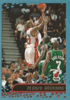2001 02 Topps 92 Alonzo Mourning Favorite Sports Teams
