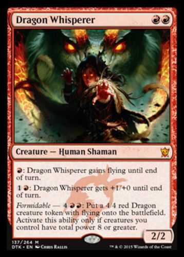 Red Dragons of Tarkir Mtg Magic Rare 1x x1 1 Dragon Tempest