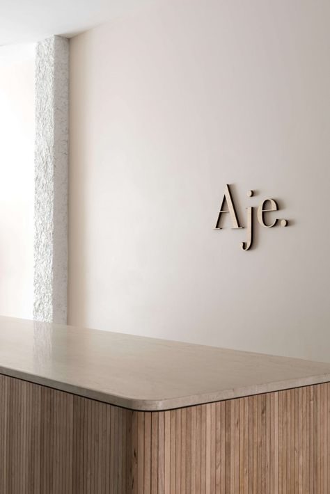 Aje Adelaide, Interior Design by We Are Triibe. Minimal Retail Design Photography by Dion Robeson