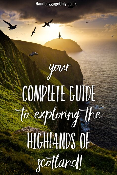 The Complete Guide To Travelling Across The Highlands Of Scotland! - Hand Luggage Only - Travel, Food & Photography Blog