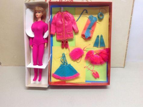 Vintage Mod Barbie Clear X Stand