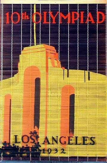 1932 Los Angeles Olympics In 2020 Travel Posters Olympic Venues Sport Poster