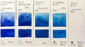 Sennelier Watercolours Full Range Nuancier Couleur Nuancier