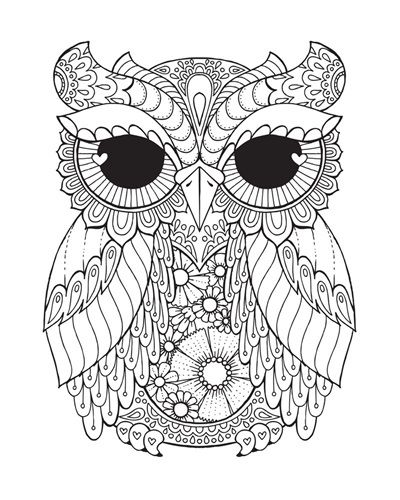 Owl Iii Owl Coloring Pages Coloring Books Mandala Coloring Pages