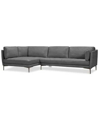 Furniture Koah 2 Pc Fabric Cuddler Chaise Sectional Sofa Created For Macy S Reviews Furniture Macy S In 2020 Sectional Sofa Sofa Design Furniture