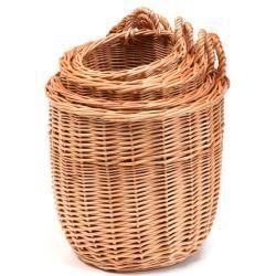 Hängekorb Aus Weide Confort Iv Weidenkorb ø 28 X H 28 Cm Wicker Hanging Baskets Plants For Hanging Baskets