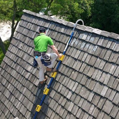 Goat Steep Assist Roof Ladder Roof Ladder Roofing Tools Roof Access Ladder