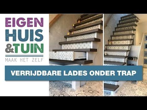 Lades In Trap : Boekenkast livinghome nl info livinghome met trap steigerhouten