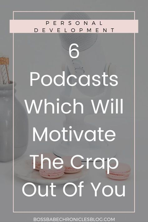 6 Motivational Podcasts You Need To Listen To - Boss Babe Chronicles - Feeling uninspired? These podcasts are perfect to motivate you to start living your best life! Self Development, Personal Development, Leadership Development Training, Boss Babe, Motivate Yourself, Improve Yourself, Podcasts Best, Motivational Quotes, Time Management