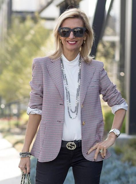 Black Shawl Collar Open Front Blazer | Shop with us at $138.00 #womensfashioncasualover50mom