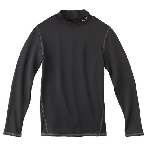 81816ad7 C9 Champion® Boys' Long-Sleeve Mock Neck Compression Top | Franklin ...