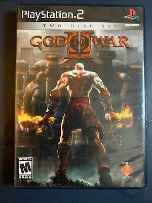 Playstation 2 God Of War 2 Two Disc Set Complete Tested God Of War Ps2 Games Playstation 2