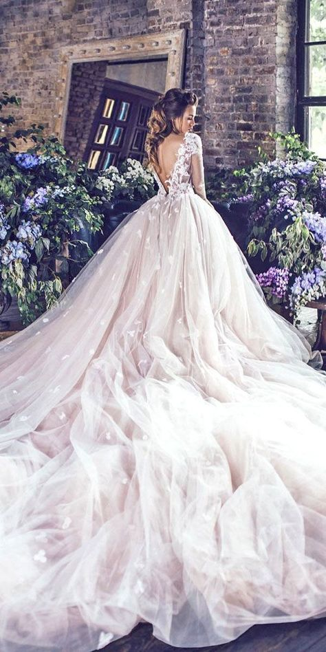 Various Ball Gown Wedding Dresses For Amazing Look ❤️ See more: http://www.weddingforward.com/ball-gown-wedding-dresses/ #weddings